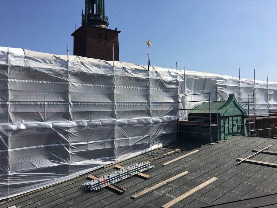 Väderskydd i Stockholm